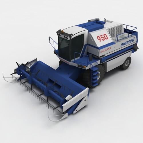 Yenisei-950 combine