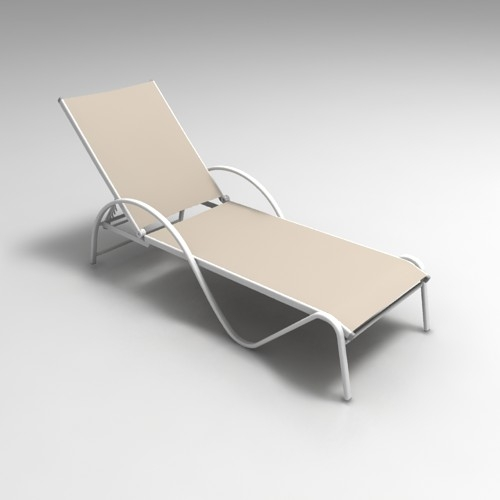 Chaise longue 3dlenta 3d models library for Chaise longue en rotin ancienne