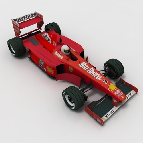 Ferrari race car