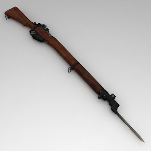 Lee-Enfield No 4 rifle