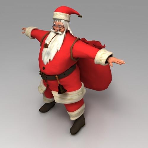 Santa claus 3dlenta 3d models library Best 3d models