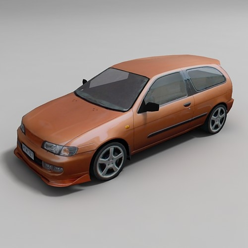 Low poly cars  Part 1 — 3DLenta 3D Models Library