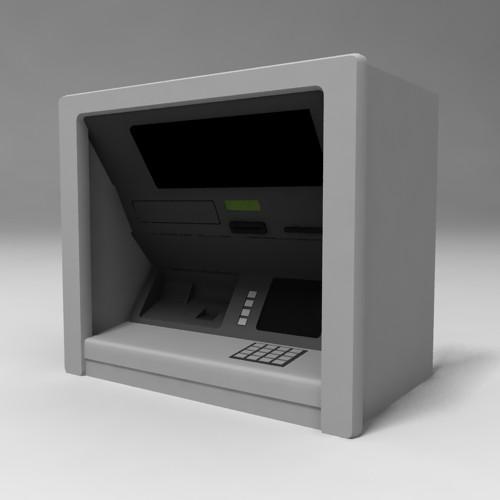 Скачиваний: 442.  3d модель банкомата.