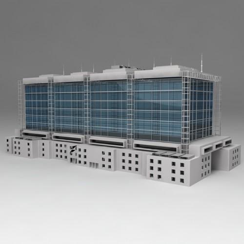 Exhibition building