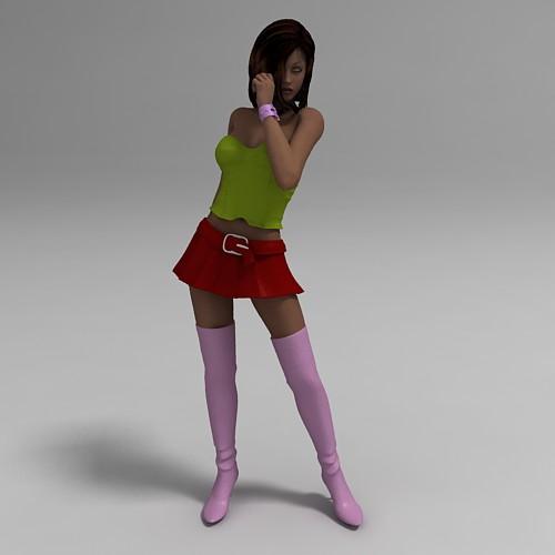 Free 3D Models Girls