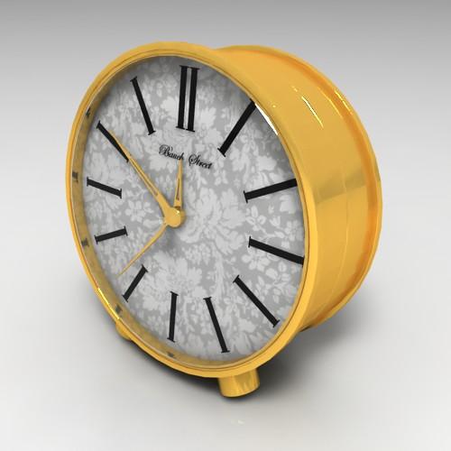 Модель часов 3д