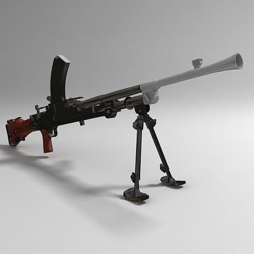 Mk 1 Bren Machine Gun
