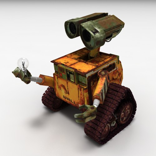 wall e 3dlenta 3d models library